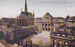 France Paris Palace of Justice and Holy Chapel