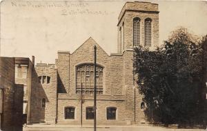 F14/ Bellefontaine Ohio RPPC Postcard c1910 New Presbyterian Church