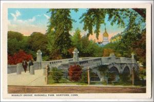 CT - Hartford. Hoadley Bridge, Bushnell Park
