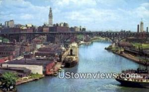 Cuyahoga River Cleveland OH Unused