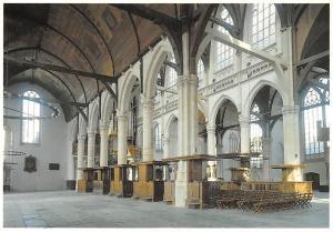 Netherlands Oude Kerk Amsterdam, Zuiderzijbeuk en Middenschip
