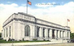 Lima, OH USA,  Post Office Postcard, Postoffice Post Card Old Vintage Antique...