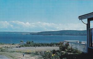 Bras d'Or Lakes , Cabot Trail , BADDECK , Nova Scotia , Canada , 50-60s