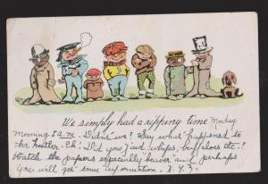 Comic Postcard - We Simply Had A Ripping Time - Used 1906