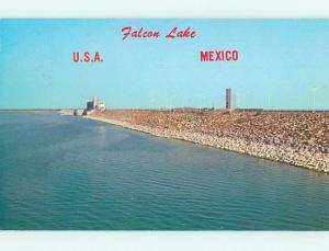 Pre-1980 WATER SCENE Zapata Texas TX hk2241