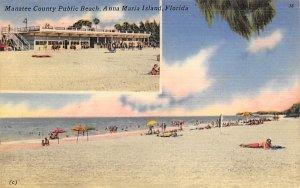 Manatee County Public Beach Anna Maria Island, Florida