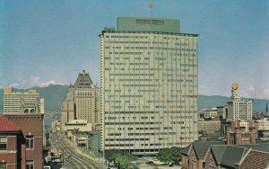 VANCOUVER, British Columbia, Canada, 1950-60s; Electric Building, Burrard Street