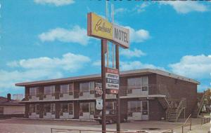Exterior View, Entrance Sign to Boulevard Motel, Winnipeg, Manitoba, Canada, ...