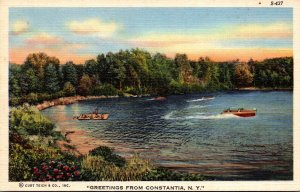 New York Greetings From Constantia Curteich