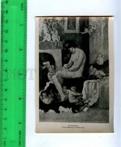 213261 Reps Fauns children russian photo miniature card