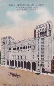 Bible Institute of Los Angeles, California; 1900-10s
