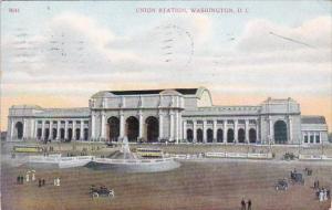 Washington DC Union Station 1910