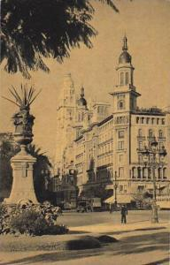 Barolo Building And May Avenue, Buenos Aires, Argentina 1910-1920s