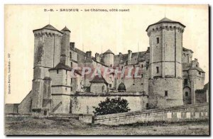 Saumur Old Postcard The West Coast