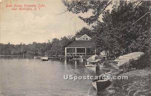 Boat House Kiamesha Lake NY 1911