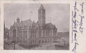 Nebraska Omaha Federal Building And Post Office 1906