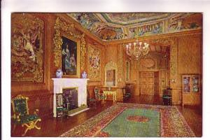 Tuck Oilette, Windsor Castle,  Interior, The State Apartments, Set D, King Ch...