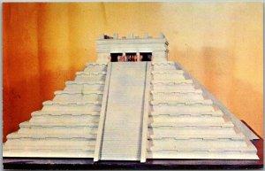 Wilmington, Delaware Postcard MYSTERY OF THE MAYA Art Center Museum c1968