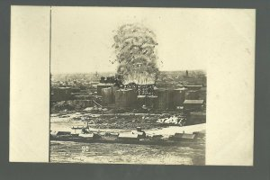 MINNESOTA Minneapolis 1874 EXPLOSION! Washburn A FLOUR MILL BROMLEY #90 1911