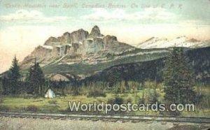 Castle Mountain Banff Canada Unused
