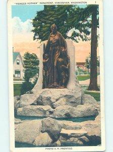 W-border MONUMENT SCENE Vancouver Washington WA AE7786
