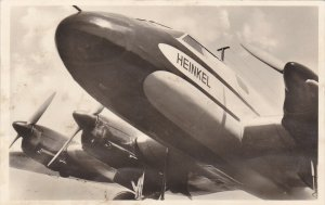 RP; Germany , 1930s : Unsere Luffwaffe He 116 Airplane