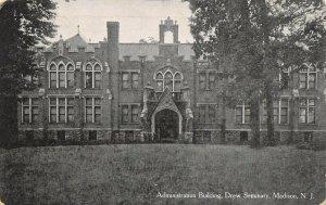 LP40    Madison  New Jersey Postcard  Drew Seminary Administration Building
