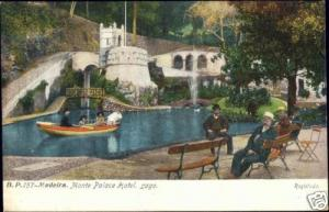 portugal, MADEIRA, Monte Palace Hotel, Lago (1910s)