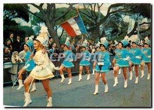 Postcard Modern French Riviera Nice Defile Cheerleaders