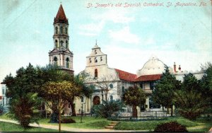 Florida St Augustine St Joseph Old Spanish Cathedral