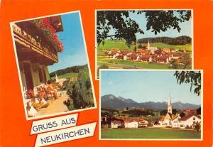 Gruss aus Neukirchen Oberbayern Gesamtansicht Pension Panorama
