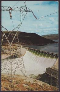 Grand Coulee Dam,WA Postcard BIN