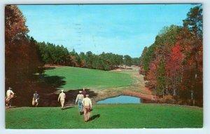 PINEHURST, NC North Carolina  12th Hole GOLF COURSE No. 1 1963 Postcard