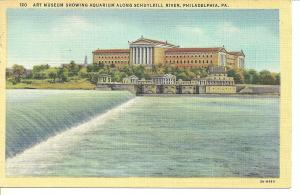 1947 Art Museum, Schuylkill River, Philadelphia, PA