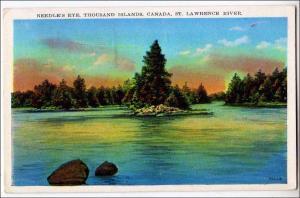 Needle's Eye 1000 Islands Canada