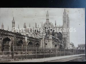 c1912 - King's College Screen and Gate, Cambridge