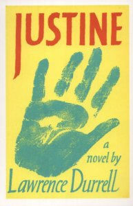 Justine Lawrence Durrell 1957 Book Postcard