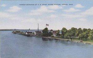 Ohio Lorian Harbor Entrance At U S Coast Guard Station