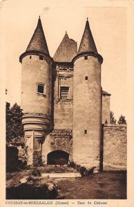 France Coussay en Mirebalais Vienne Tour du Chateau Castle Schloss