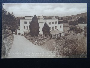 Herefordshire ROSS ON WYE Symonds Yat THE PADDOCKS HOTEL Old Postcard by Burrows