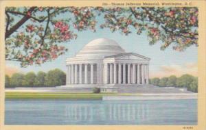 Washington D C Jefferson Memorial Through Cherry Blossoms Curteich