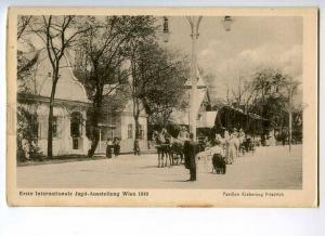 247486 AUSTRIA Wien 1910 Jago exhibition Archduke Friedrich pv