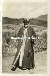 Unknown African Leader with Medals (1930s) Snapshot Real Photograph (2)