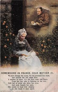 Songs: Somewhere in France, dear Mother (3) We change the scene, postman has bee