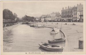 BLAYE (Gironde) France, Le Chenal a maree haute, 1900-10s