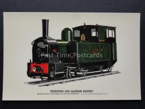 The Countess No.823 WELSHPOOL & LLANFAIR RAILWAY Steam Train by Prescott c1970's