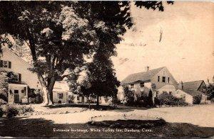 Connecticut Danbury White Turkey Inn Entrance Buildings 1952