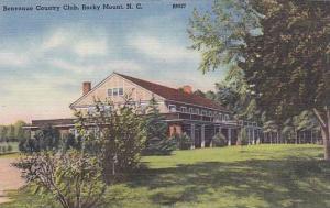 Exterior, Benvenue Country Club, Rocky Mount, North Carolina, 30-40s