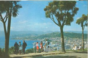 New Zealand, Wellington panorama, 1972 used Postcard