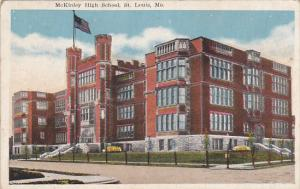 Missouri St Louis McKinley High School 1920